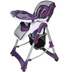 Складной стульчик с ремнём безопасности