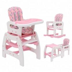 Детский стульчик 3 в 1 с качелями