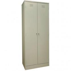 Шкаф металлический для одежды, ПМ500