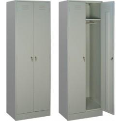 Шкаф металлический для одежды, ПМ22/800
