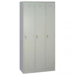 Шкаф металлический для одежды, ПМ33