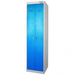 Шкаф металлический для одежды ПМ22/500
