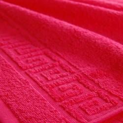 Полотенце махровое, 40 х 70 см., малиновый