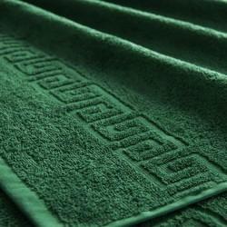 Полотенце махровое, 70 х 140 см., тёмно-зелёный