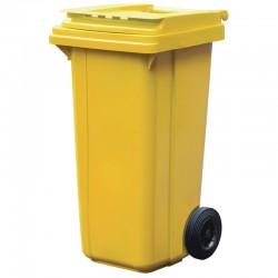 Мусорный пластиковый контейнер, 120 л.