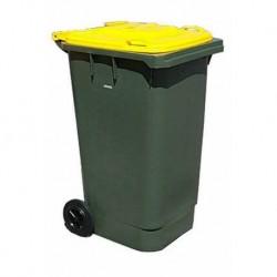 Мусорный пластиковый контейнер, 240 л.