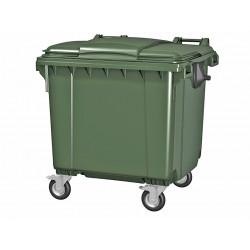 Мусорный пластиковый контейнер, 660 л.