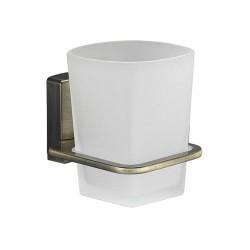 Стакан для зубных щеток стеклянный, WasserKRAFT