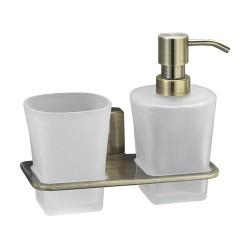 Держатель стакана и дозатора, WasserKRAFT