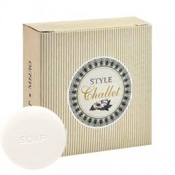 Мыло-крем круглое Challet Style, картон