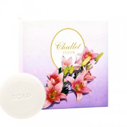 Мыло-крем круглое Challet Fleur, 20 гр., картон