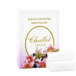 Губка для обуви Challet Fleur, картон