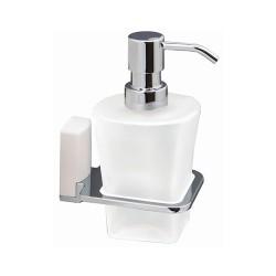 Дозатор для жидкого мыла стеклянный, 300 мл., WasserKRAFT