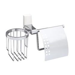 Держатель туалетной бумаги и освежителя, WasserKRAFT