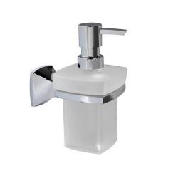 Дозатор для жидкого мыла стеклянный, 230 мл., WasserKRAFT