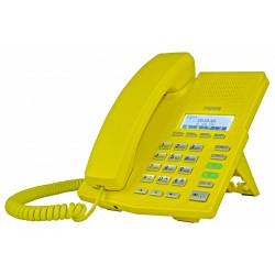 Проводной гостиничный телефон VoIP, Fanvil X3Р Жёлтый