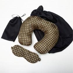 Индивидуальная маска и шейная подушка в чехлах
