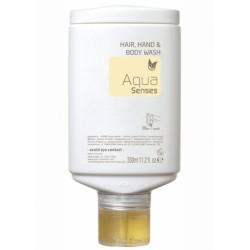 Шампунь для волос, тела и рук Aqua Sense PRESS & WASH, 300 мл.