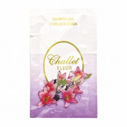 Гель для душа Challet Fleur, 10 мл., саше