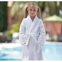 Детский халат Boca Terry, 6-9 лет, шалька
