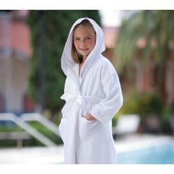 Детский халат Boca Terry с капюшоном, микрофибра, 7-10 лет