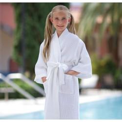 Детский вафельный халат Boca Terry , 7-10 лет